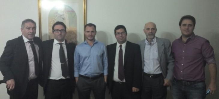Directivos de la AALCC se reunieron con el diputado Fernando Sanchez