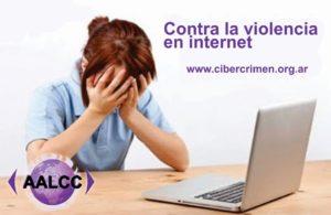 no a la violencia en la web