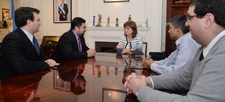 Meeting with the Minister of National Security Dr.. Patricia Bullrich